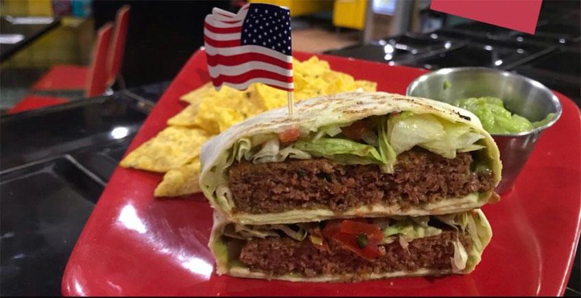 La hamburguesa vegetal que parece de carne