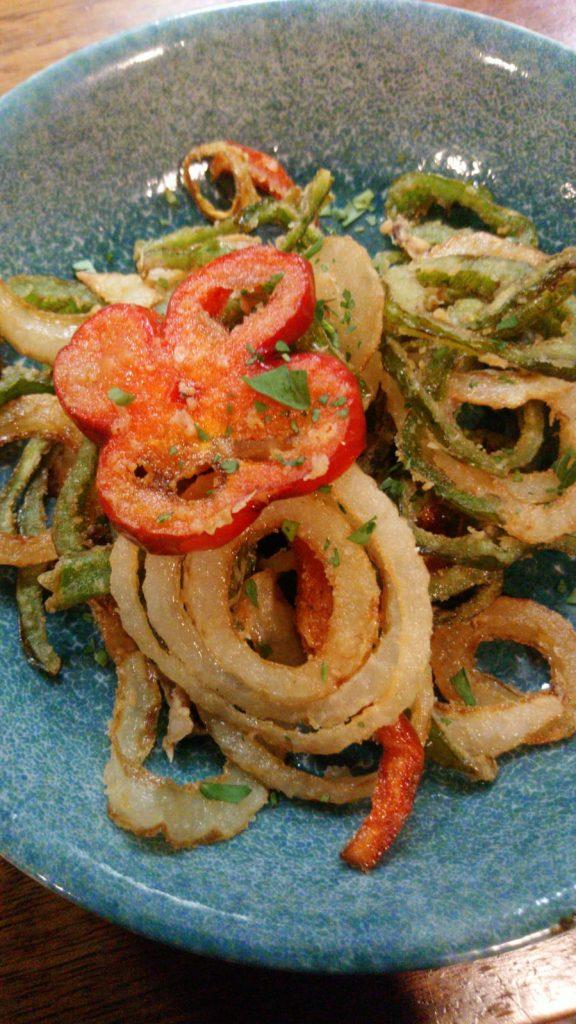 Calamares del campo, plato apto para veganos. Foto cedida por el establecimiento.