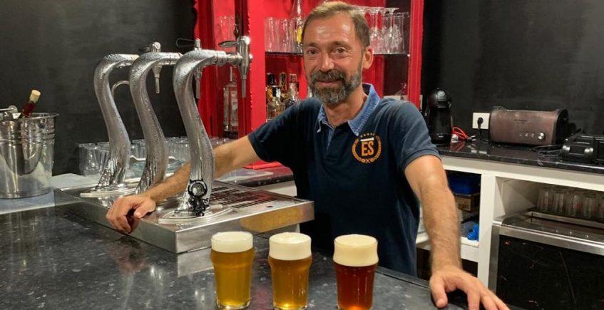 Cervezas artesanas y tapas saludables al frescor de Las Brisas
