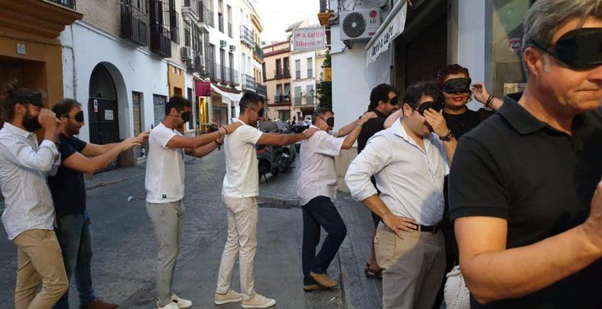 Cata a ciegas Lama Lauva. 25 de julio. Sevilla.