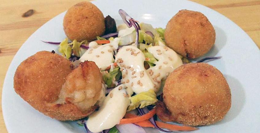 Uno de los platos de Abka2. Foto: Aboka2