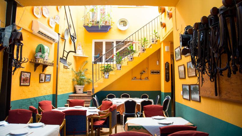 Comedor de Casa Batato en Umbrete. Foto: Cedida por el establecimiento.