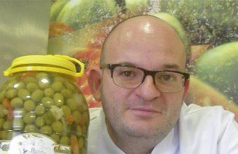 El cocinero Luis Portillo del restaurante El Pulpejo de Arahal. Foto: Cosasdecome