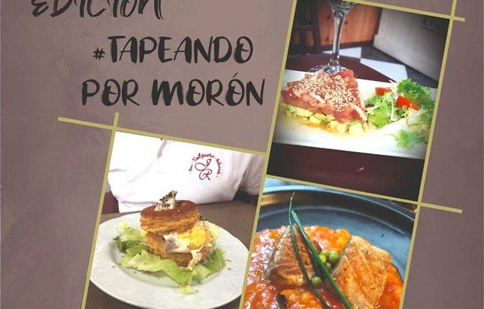 La segunda edición de la ruta Tapeando por Morón, del 30 de agosto al 1 de septiembre