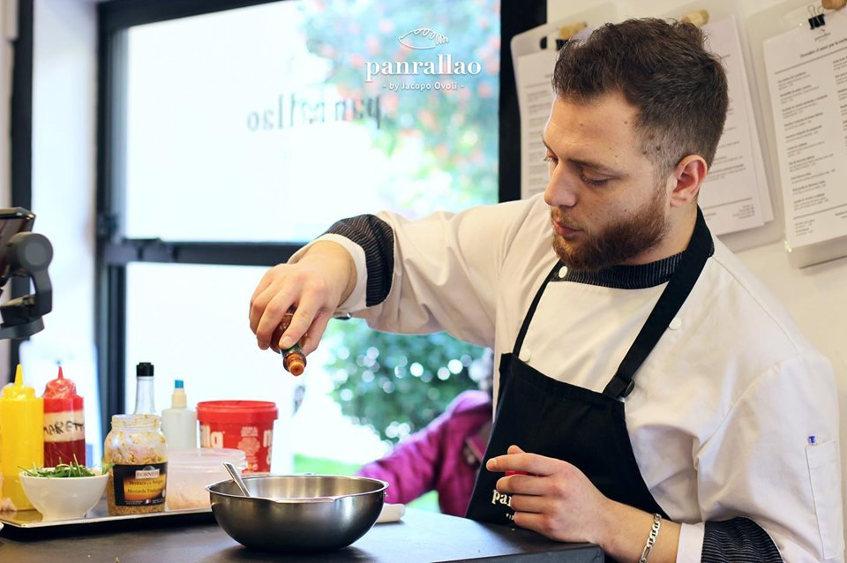 El cocinero Jacopo Ovoli. Foto: Cedida por el establecimiento