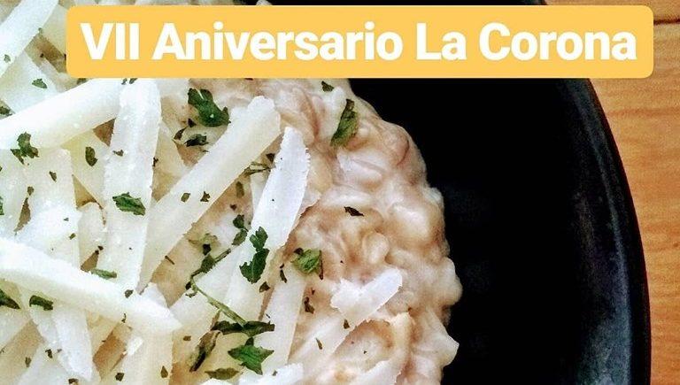 """Una """"falsa risottada"""" para celebrar el aniversario de La Corona"""