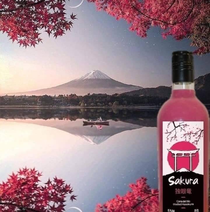 La bebida se inspira en la importancia del cerezo para la cultura nipona. Foto cedida por Antonio Bizcocho.