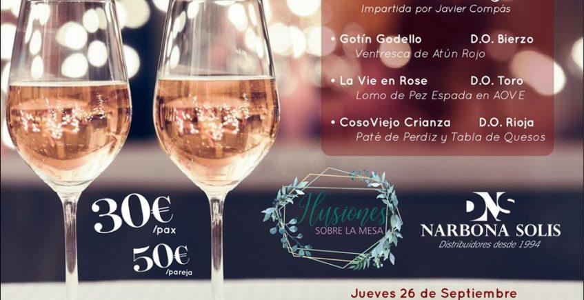 Cata DNS Gourmet. 26 de septiembre. Sevilla