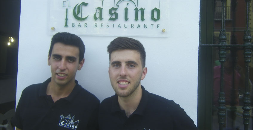"""Los biznietos de """"Antonio el del Casino"""""""