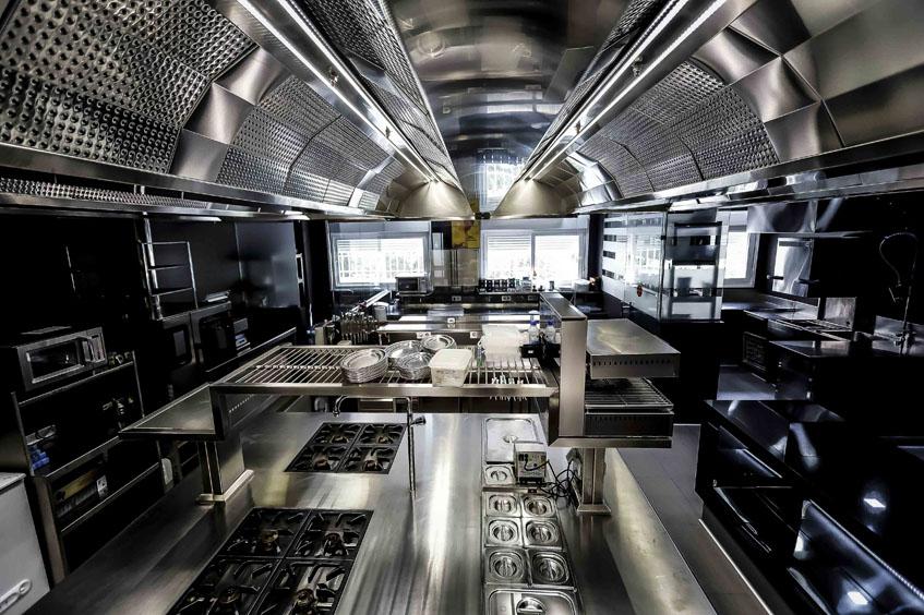 Asi es la nueva cocina de Abantal. Foto: Cedida por el establecimiento