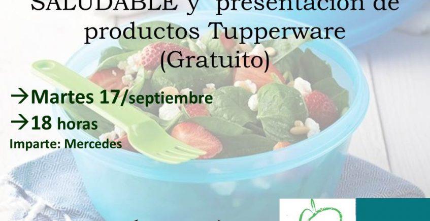 Taller de comida saludable en Mairena del Alcor