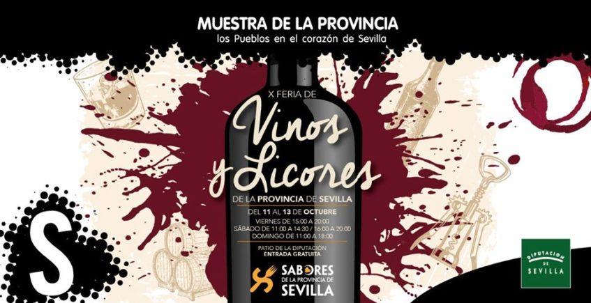 X Feria de Vinos y Licores de la Provincia. Del 11 al 13 de octubre. Sevilla