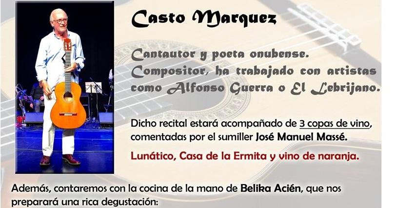 Catas con arte+cantautor. 17 de octubre. Sevilla.