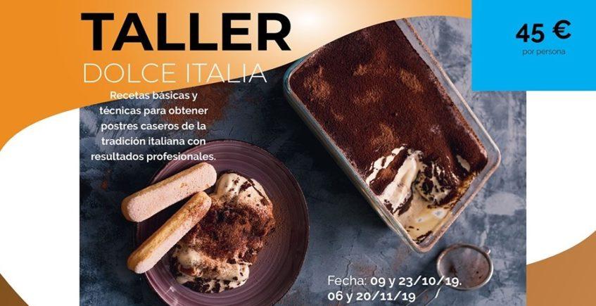 Talleres Postres Italianos y Cocinar Foie. 9, 12, 20 y 23 de octubre y 6 y 20 de noviembre. Sevilla