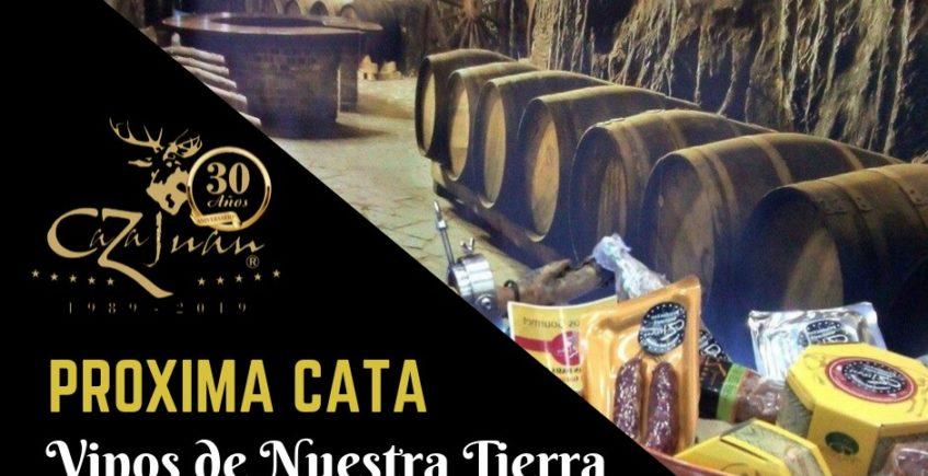 Cata de vinos de la tierra Marqués de Villalúa. 25 de octubre. Sevilla