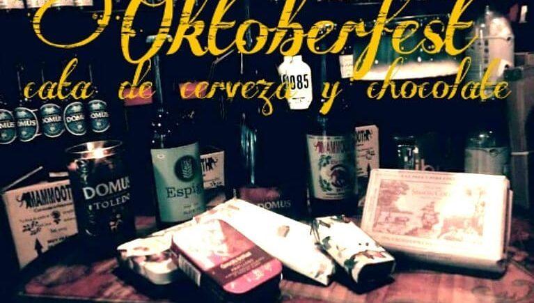 Cata de cerveza y chocolate. 26 de octubre. Sevilla.