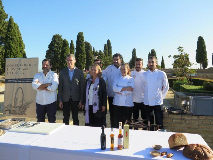 Las II Jornadas Científicas 'Comer, conocer e investigar en Itálica' ha sido organizadas por el conjunto arqueológico y por la Consejería de Cultura de la Junta de Andalucía. Foto: CosasDeComé