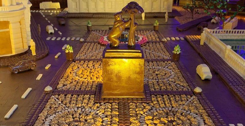 2000 kilos de chocolate para modelar Madrid
