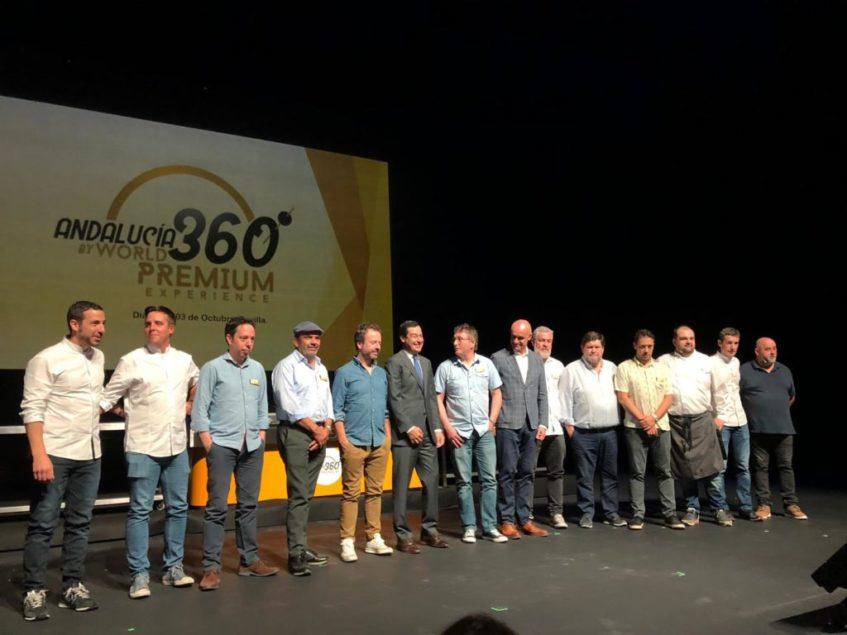 Inauguración del congreso con algunos de los chefs participantes. Foto: CosasDeComé.