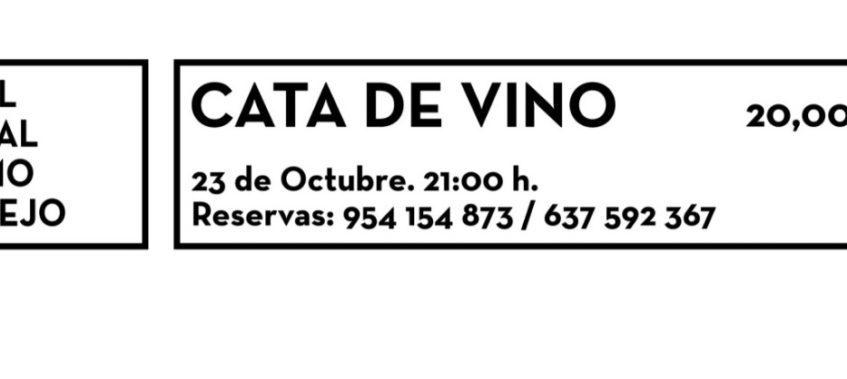 Cata de vino en El Salmorejo. 23 de octubre. Tomares