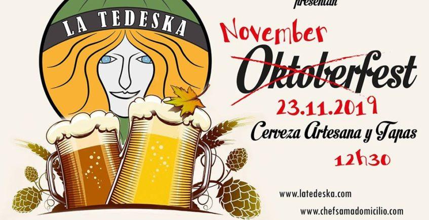Novemberfest. 23 de noviembre. Mairena del Aljarafe.
