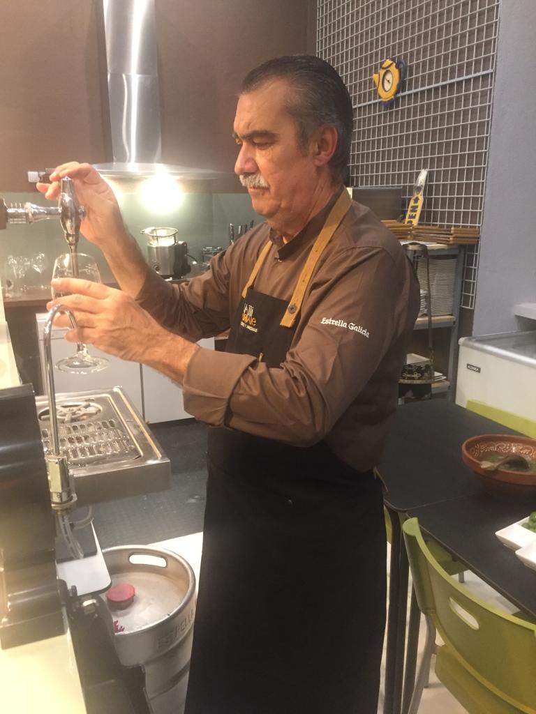 Eduardo de Castro, propietario de Bocatti di Cardinale. Foto cedida por el establecimiento.