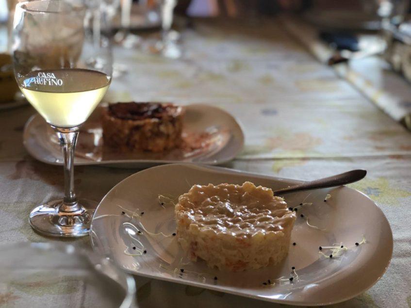El mosto umbreteño y su potencial fue analizado en la cata especializada realizada en el restaurante Rufino. Foto: CosasDeComé.