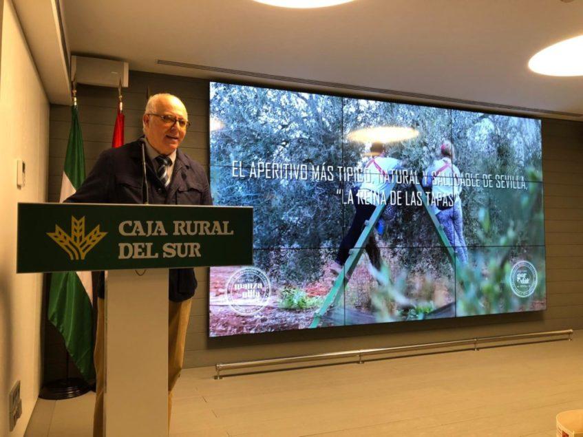 Juan Luis Oropesa, presidente del Consejo Regulador, durante la presentación. Foto: CosasDeComé.
