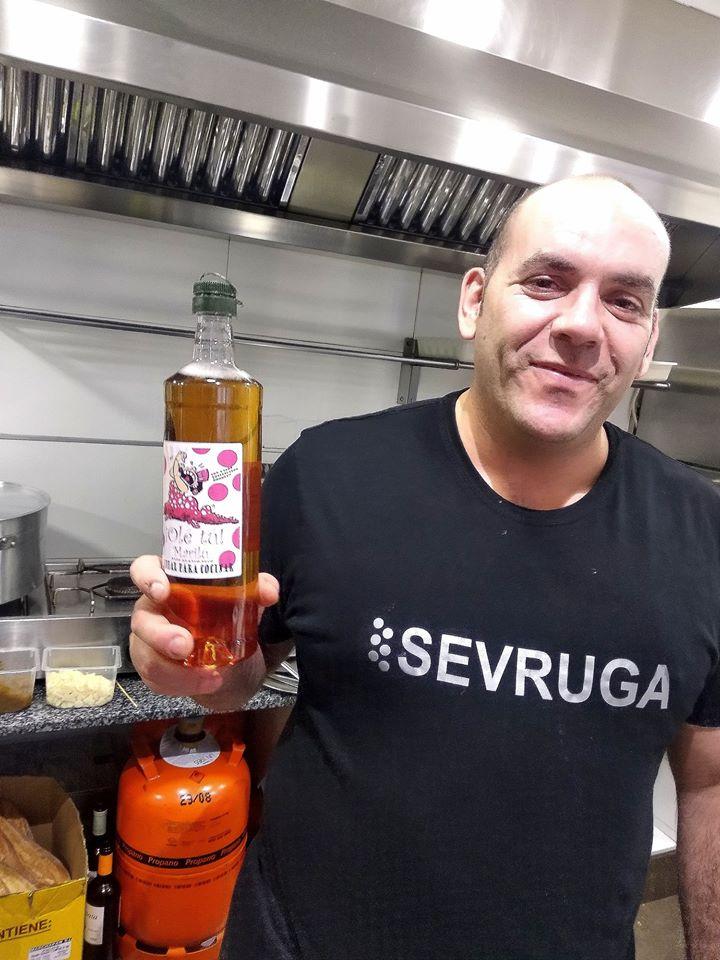 Desde Sevruga se testeó el vino antes de su lanzamiento oficial. Foto cedida por el propietario.