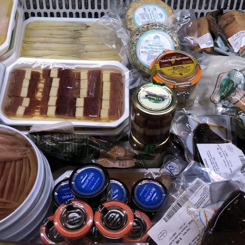 De Sur a Norte posee también una zona dedicada a quesos y conservas gourmet. Foto cedida por el establecimiento.
