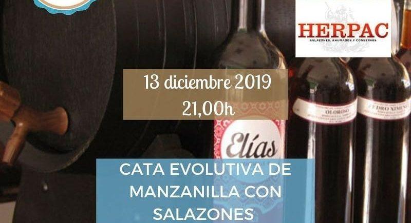 Cata evolutiva de manzanilla con salazones. 13 de diciembre. Sevilla
