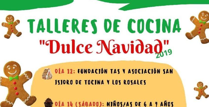 Talleres de cocina para niños. Días 14 y 21 de diciembre. Tocina