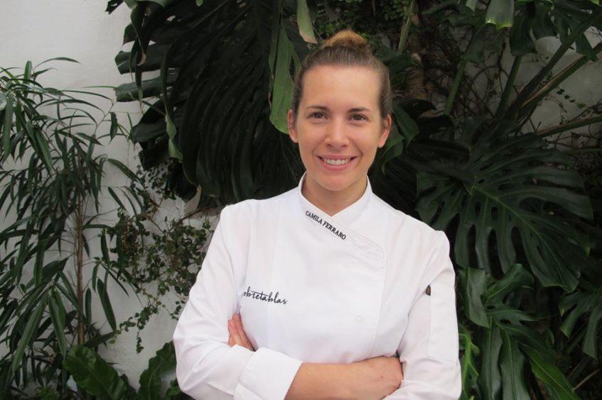 Ferraro fue durante años jefa de Cocina del Celler Can Roca y regresó en 2018 a Sevilla. Foto cedida por el establecimiento.