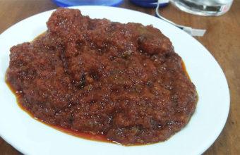 La carne en tomate de la bodega Pepe Girón
