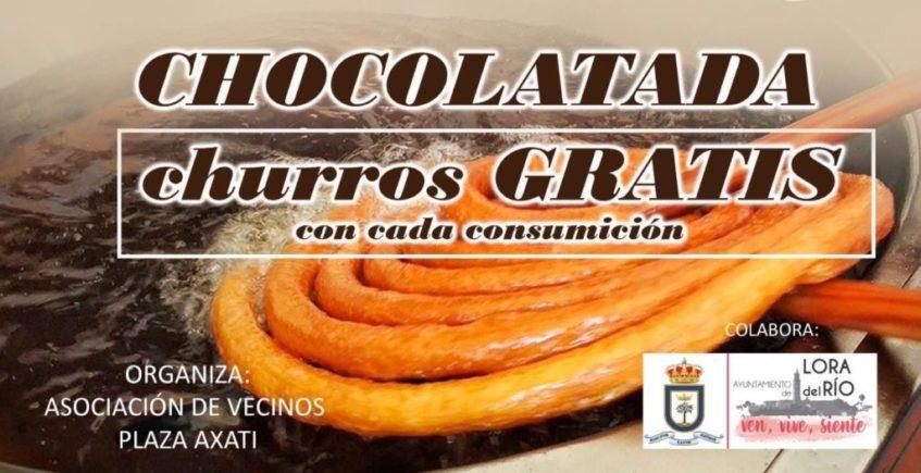 Chocolatada con churros. 13 de diciembre. Lora del Río