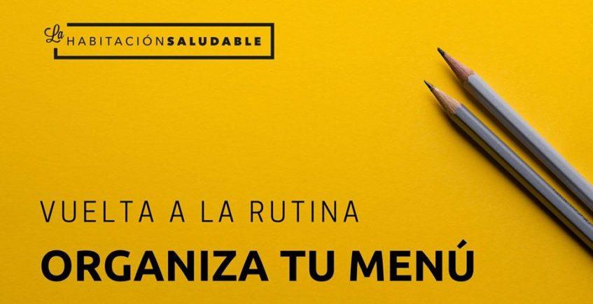 Taller 'Vuelta a la rutina, organiza tu menú'. 13 de enero. Sevilla.