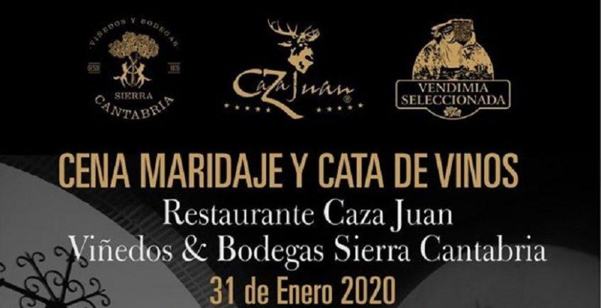 Cata de vinos y cena maridaje. 31 de enero. Sevilla
