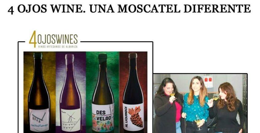 Cata técnica 4 Ojos Wine. 22 de enero. Sevilla
