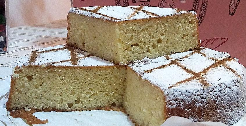 El bizcocho de la panadería confitería Santa Margarita