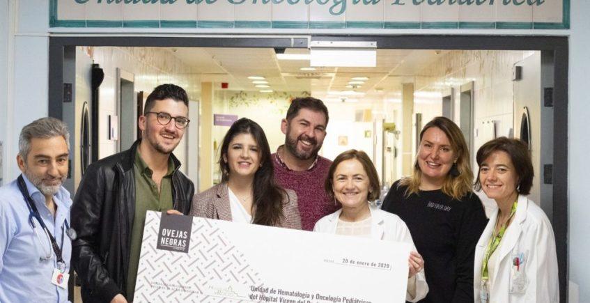 La tapa solidaria de Ovejas Negras recauda casi 4000 euros para el cáncer infantil