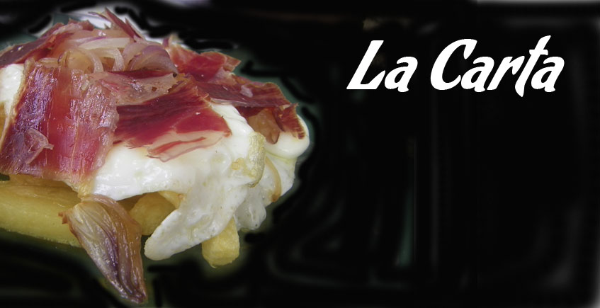 Cartas de bares y restaurantes de la provincia de Sevilla