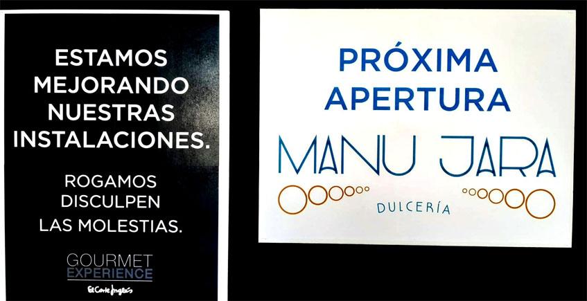 Manu Jara abrirá cafetería, pastelería y heladería en el Gourmet Experience de El Corte Inglés