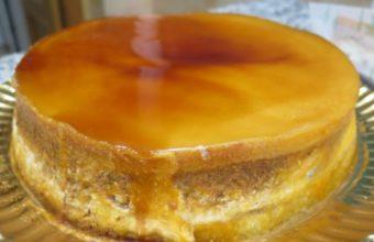 La tarta de tocino de cielo, nata y nueces de Pepita Vázquez