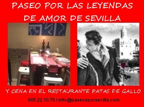 """""""Gastropaseo"""" de San Valentín por Sevilla"""