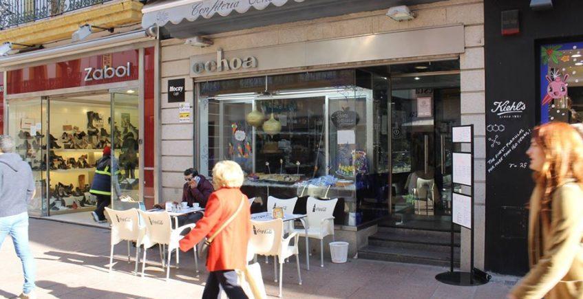 Los bollos de leche y batidos helados de Ochoa gozan de gran fama en la ciudad. Foto cedida por el establecimiento