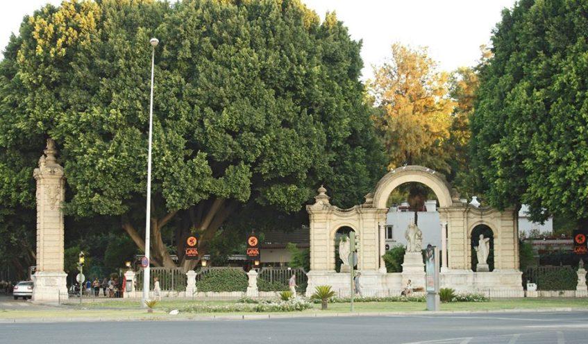 La Raza se ubica en el que había sido el Pabellón de la Información durante la Exposición Iberoamericana de 1929. Foto cedida por el establecimiento.