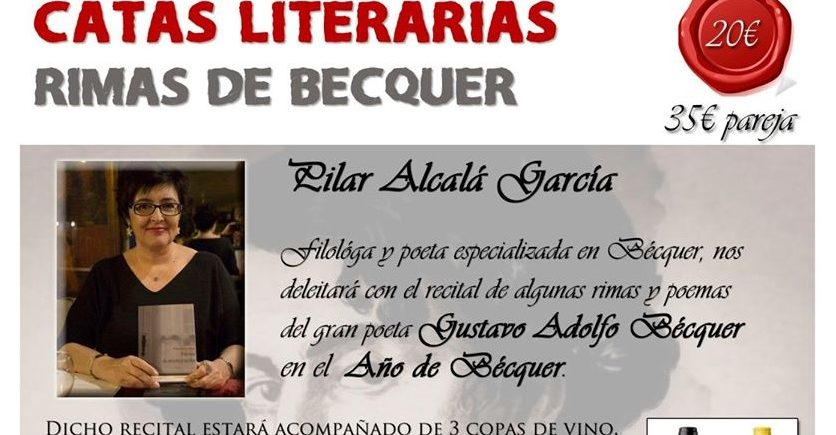 Cata literaria 'Rimas de Bécquer'. 25 de febrero. Sevilla