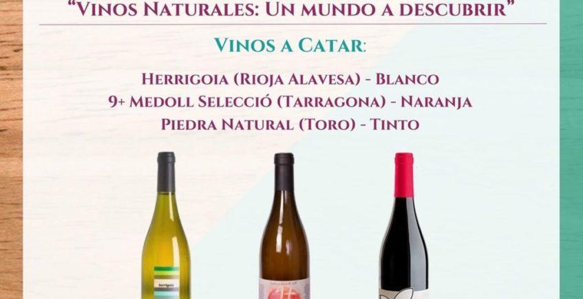 Cata Vinos Naturales. 21 de febrero. Sevilla