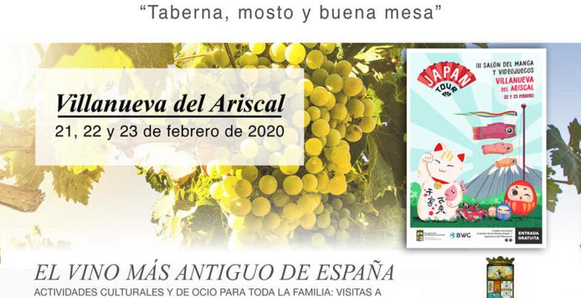 Villanueva del Ariscal: visitas a bodegas y concurso de tapas y mosto para celebrar las V Jornadas Enoturísticas