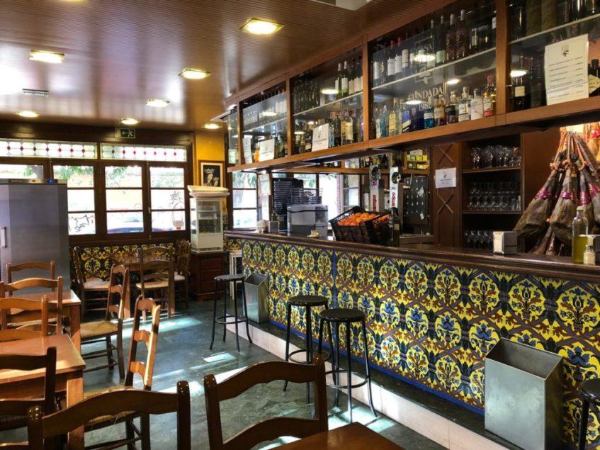El establecimiento de Casa Ruiz de Nervión fue el primero en abrir sus puertas. Foto: CosasDeComé.
